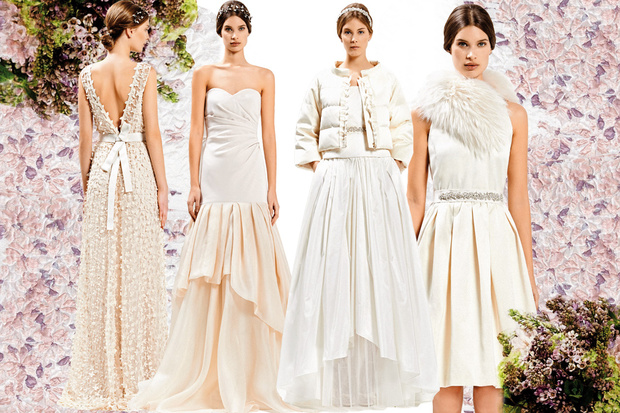 84c90fdd1344 Max Mara Bridal  i nuovi abiti da sposa - Female World - Il blog ...