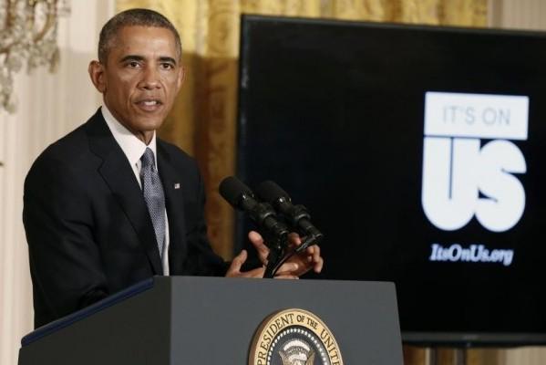 """Obama ai Grammy: """"Fermiamo la violenza di genere"""""""