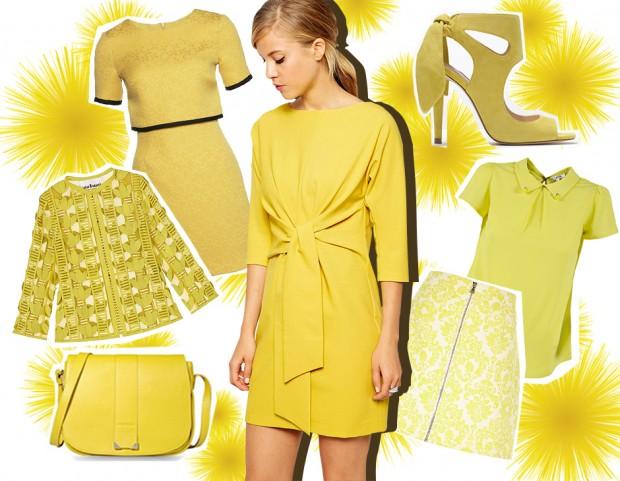 Tendenze moda estate 2015: tutte pazze per il giallo