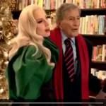 Lady Gaga, pubblicità natalizia con Tony Bennett per la cantante