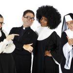 Suor Cristina Scuccia nel musical Sister Act al Brancaccio