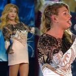 Sanremo 2016, Virginia Raffaele imita Belen vestita come Emma