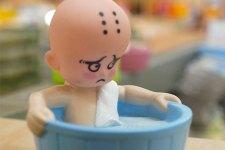 Cambio e bagnetto: riti quotidiani per mamma e bebè