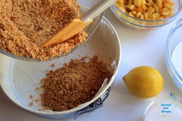 inForna con Silvana cheesecake fredda alla fruttainForna con Silvana cheesecake fredda alla frutta