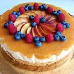 InForna con Silvana, ricetta della cheesecake fredda alla frutta