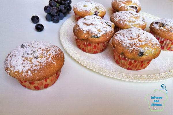 InForna con Silvana, prepariamo i muffin con uva fragola