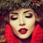 Idee per un trucco glam da sfoggiare a Natale