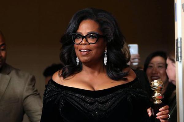 Oprah Winfrey discorso Golden Globes 2018