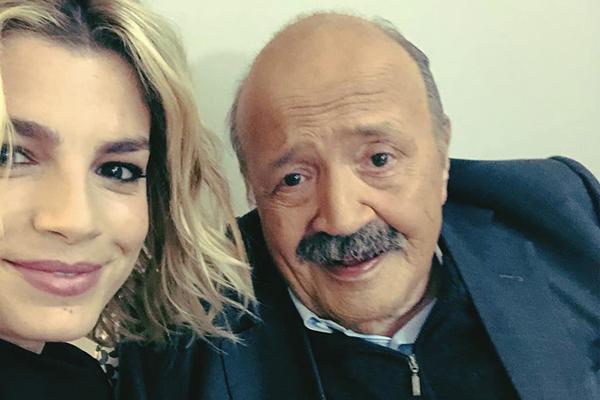 Emma Marrone e Maurizio Costanzo