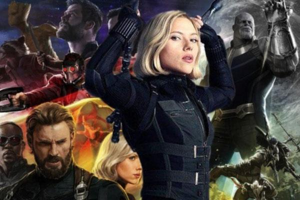 "Scarlett Johansson: ""In Avengers: Infinity War c'è più energia femminile"""