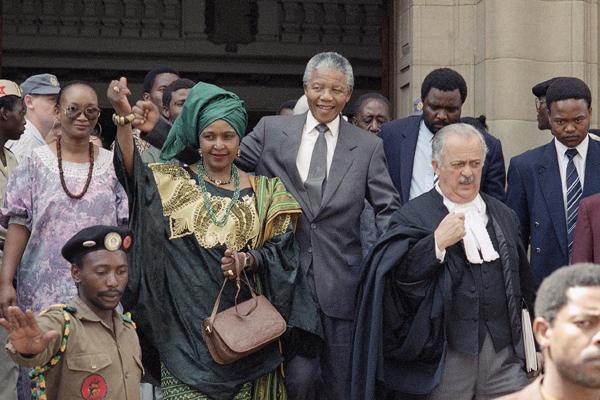 Nelson e Winnie Mandela