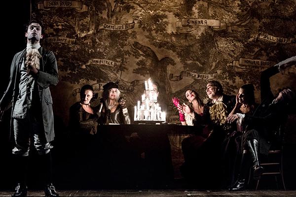 Barry Lyndon nella riduzione teatrale di Giancarlo Sepe al Teatro Argentina
