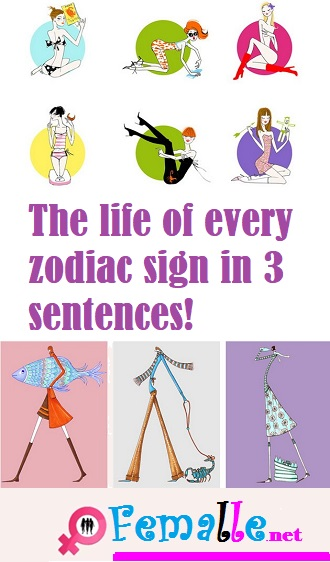 The life of every zodiac sign in 3 sentences