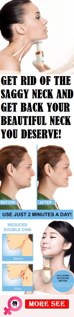 GET RID OF THE SAGGY NECK AND GET BACK YOUR BEAUTIFUL NECK YOU DESERVE!