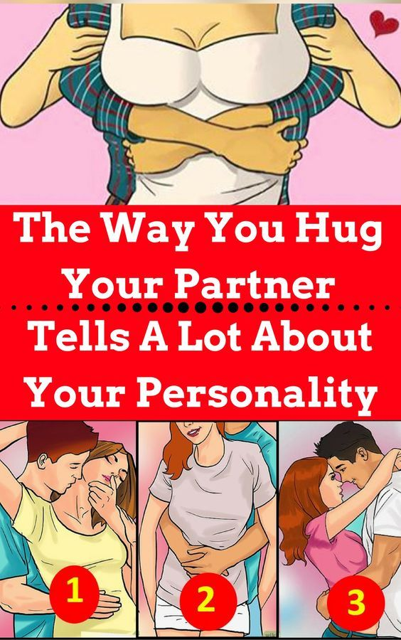 The Way You Hug Your Partner Can Tell You A Lot About Your Personality