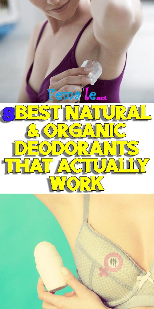 8 Best Natural & Organic Deodorant Alternatives