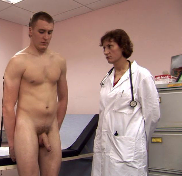 Crazy doctors gay exam xxx he was creating