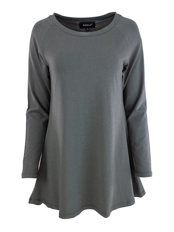 Femeia Fashion Syksy 2020 Boheme Tunuka B11652 oliivi edestä