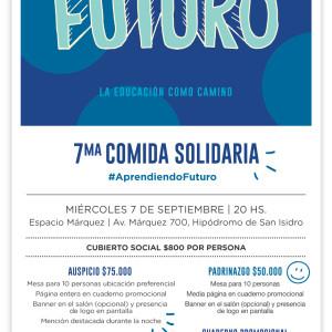 7ma Comida Solidaria - Invitación empresas