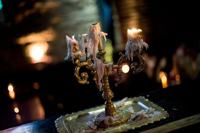Cenas románticas en Portezuelo Bar
