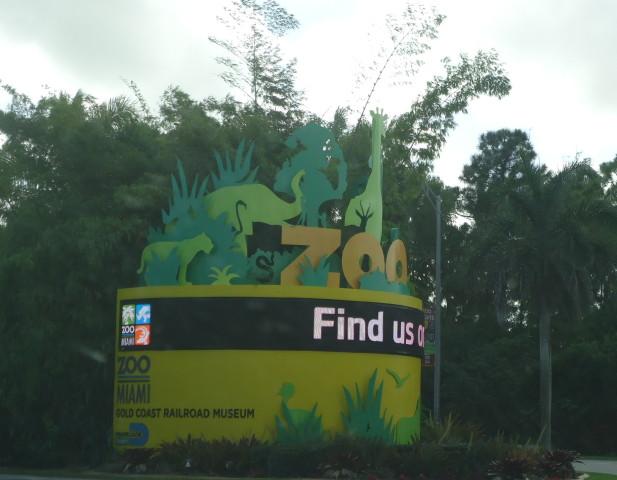 Entrada al Zoo de Miami