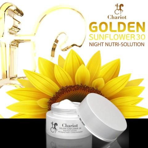 Esther-Palma-Comunicacion- crema-antiedad-chariot-cosmetics-golden-sunflower-cosmetica-española-2
