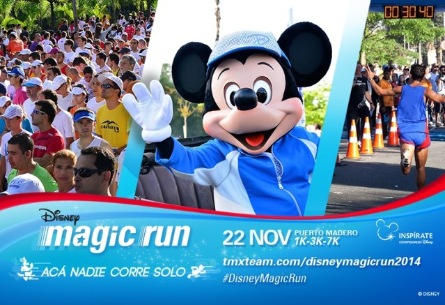 Disney Magic Run, por primera vez  en Buenos Aires
