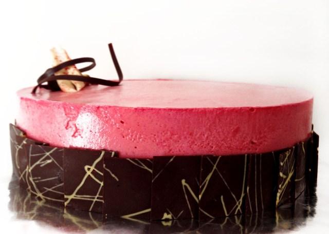 Torta Absolut Red: Un lanzamiento de Atelier Pastry para San Valentín