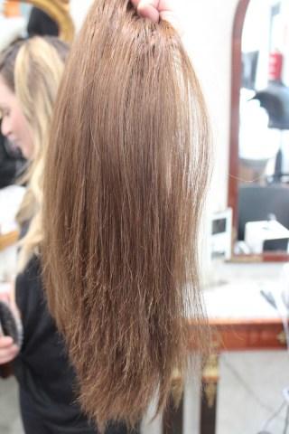 espesor del cabello personalizado