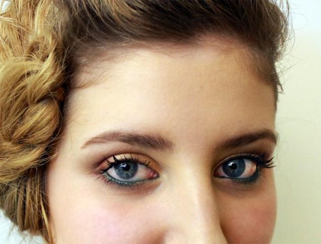 Tutorial: Maquillaje dorado para novias