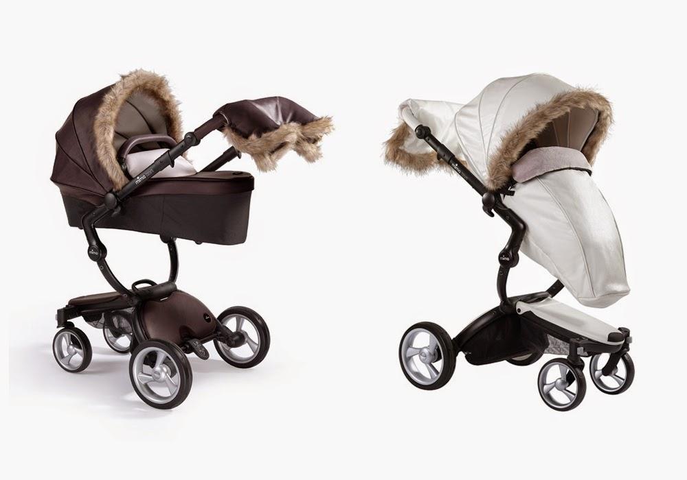mima los cochecitos de bebé que visten con tendencia