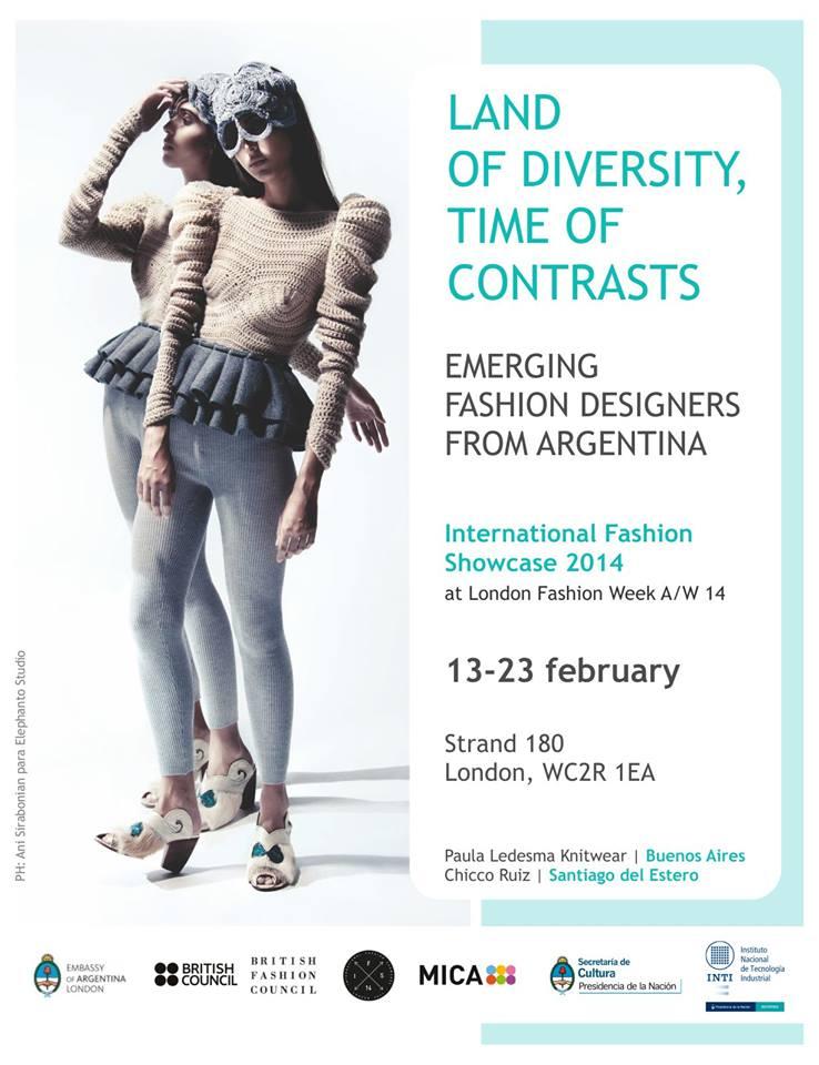¨Land of diversity, Time of contrasts¨ con la participación de diseñadores argentinos en Londres