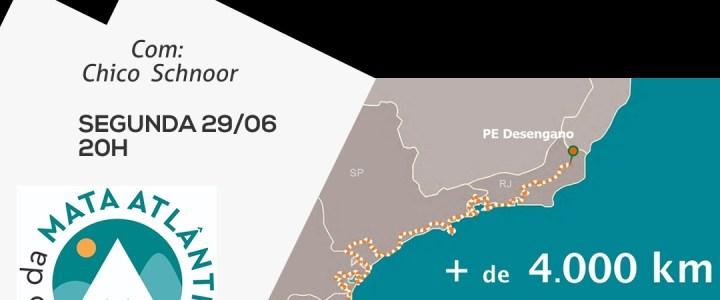 Palestra CNM – Caminho da Mata Atlântica – Uma grande trilha reconectando pessoas, florestas e áreas protegidas