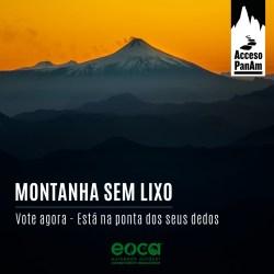 Projeto Montanha Limpa: Vote agora por nossas montanhas limpas e sem lixo