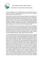 Resultados do Seminário de Mínimo Impacto de Paredes para o Parque Estadual da Serra da Tiririca – PESET