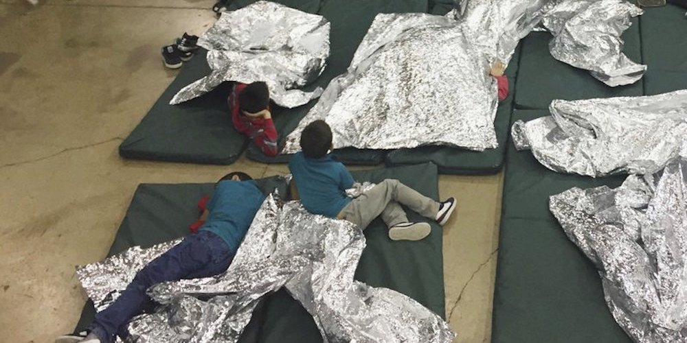 immigrant children detained