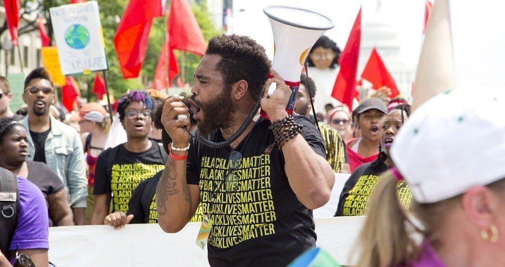 black lives matter activist