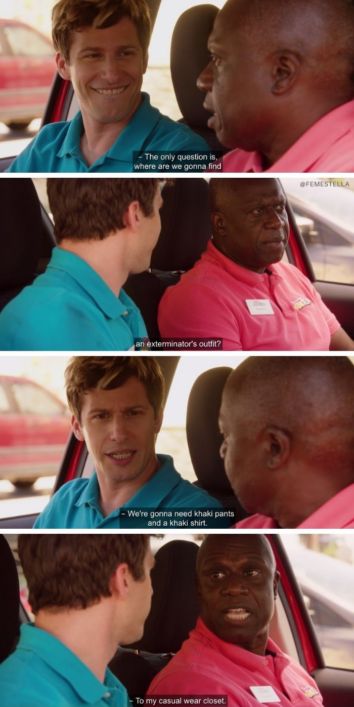 captain holt edits gay quotes