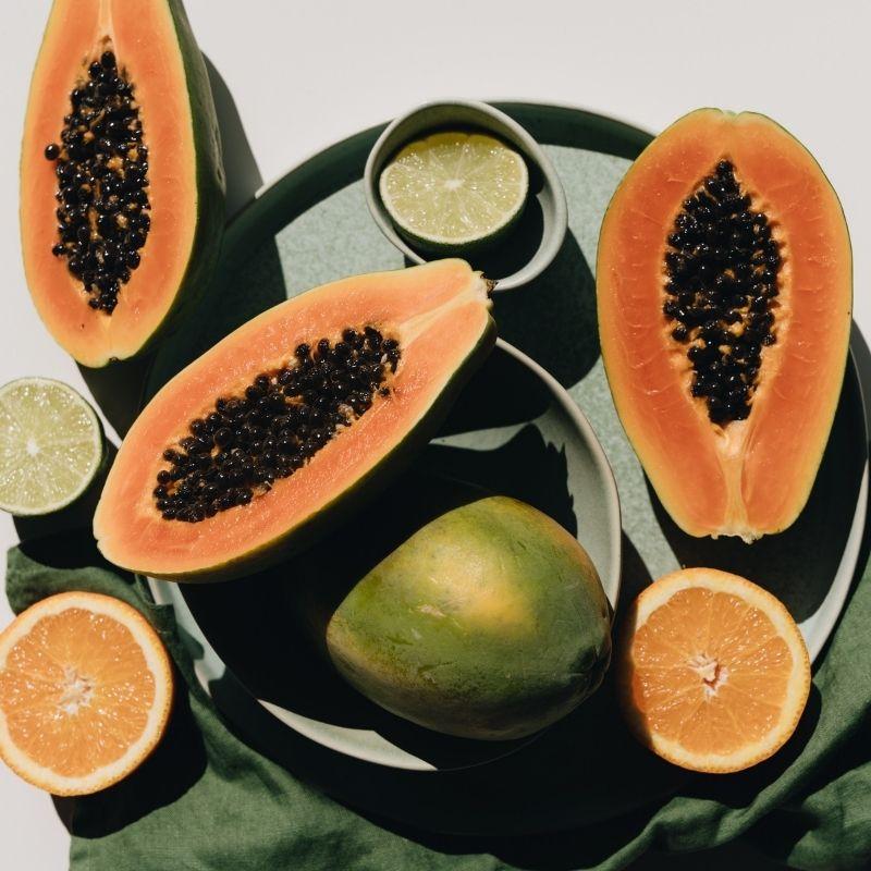 herbal birth control papaya