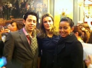 SAR la Princesa de Asturias con Toto y Pali