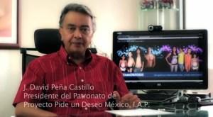 David Peña, presidente de PPuDM y FEMEXER, expresa acciones a seguir en pro de la esnfermedades raras