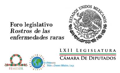 """Foro legislativo """"Rostros de las enfermedades raras"""""""