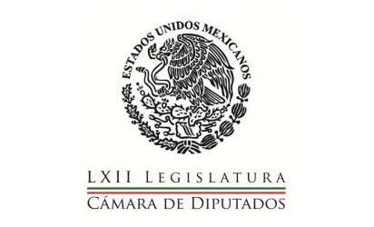 Legislatura LXII Cámara de Diputados, México