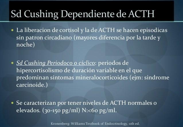 Síndrome de Cushing dependiente de ACTH