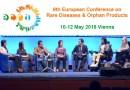 Conferencia Europea de Enfermedades Raras y Medicamentos Huérfanos 2018 Viena