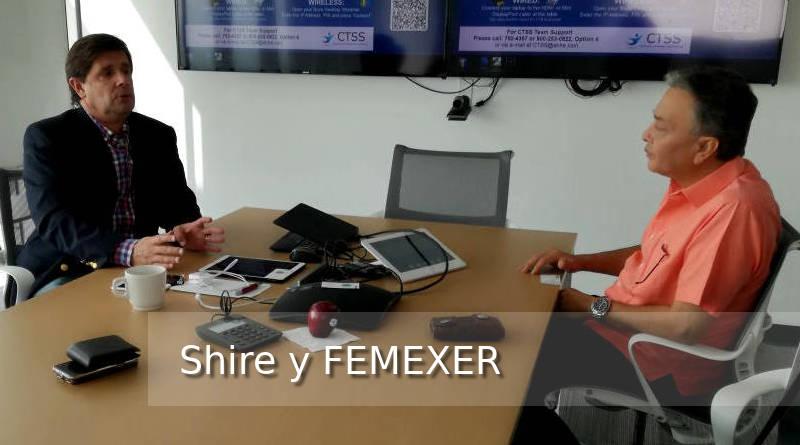Entrevista FEMEXER a Shire