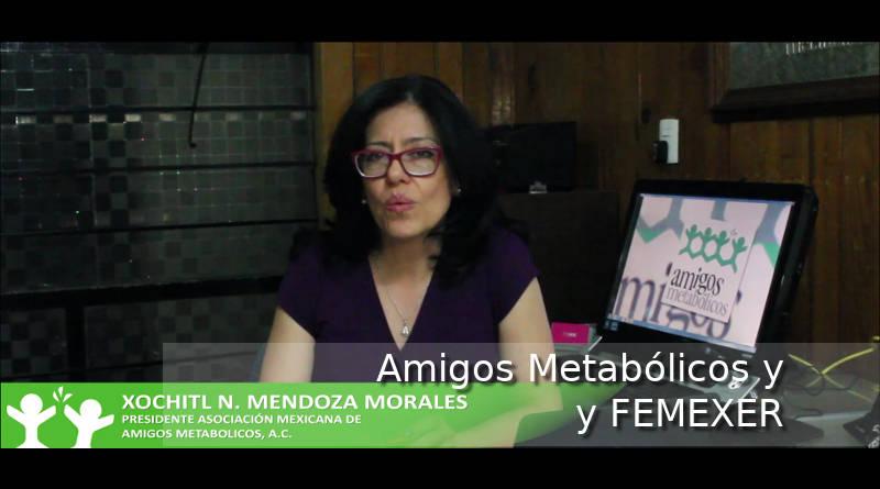 Mensaje de Amigos Metabólicos a FEMEXER