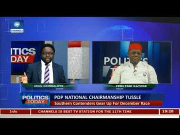 PDP National Chairman Should Remain In South West To Win 2019 Election - Fani Kayode Pt.2