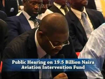 Femi Fani Kayode, fmr  Minister of Aviation appears before the Senate Aviation Committee June 2008 Pt 2