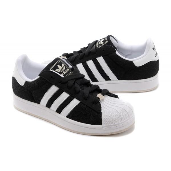 Adidas Superstar Noire Et Blanche 3